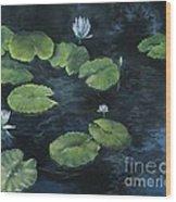 Lilypond Wood Print