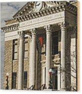Limestone County Courthouse Alabama Wood Print