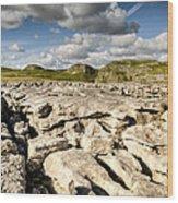Limestone Pavements At Malham Wood Print
