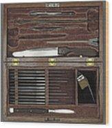 Lincoln Autopsy Kit, 1865 Wood Print