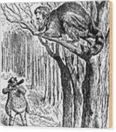 Lincoln Cartoon, 1862 Wood Print by Granger