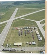 Lincoln Il Airport Wood Print