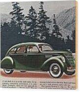 Lincoln Zephyr 1936 Wood Print