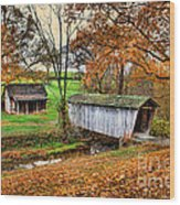 Lincoln's Homestead Wood Print