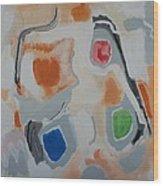 Linda Wood Print by Jay Manne-Crusoe