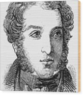 Lionel Nathan De Rothschild Wood Print
