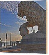 Lions Gate Bridge Wood Print by Peter  McIntosh