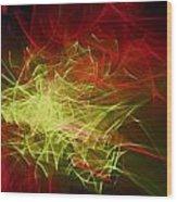 Liquid Saphire 10 Wood Print by Cyryn Fyrcyd