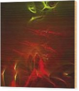 Liquid Saphire 13 Wood Print by Cyryn Fyrcyd