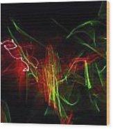 Liquid Saphire 2 Wood Print by Cyryn Fyrcyd