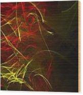 Liquid Saphire 20 Wood Print