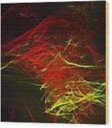 Liquid Saphire 22 Wood Print by Cyryn Fyrcyd