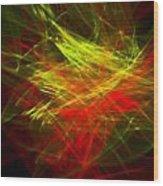 Liquid Saphire 23 Wood Print by Cyryn Fyrcyd