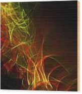 Liquid Saphire 25 Wood Print