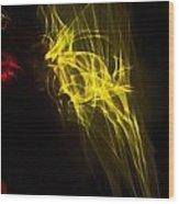 Liquid Saphire 37 Wood Print
