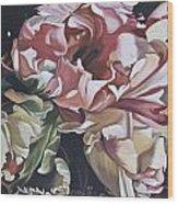 Lisianthus Wood Print