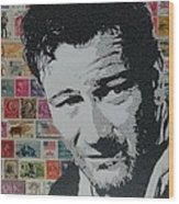 Literally John Wayne Wood Print