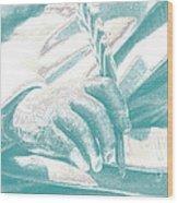 Literary Penship Wood Print