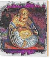 Little Buddha - 2 Wood Print