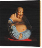 Little Buddha - 7 Wood Print
