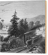 Little Falls: Railroad Wood Print