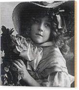 Little Lady Wood Print