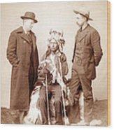 Little, Oglala Band Leader, Full-length Wood Print