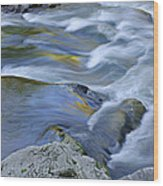 Little River Great Smoky Mountains Wood Print