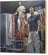 Live Oak Brewing Company Austin Texas Wood Print by Gregg Hinlicky