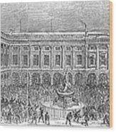 Liverpool Exchange, 1854 Wood Print