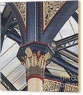 Liverpool Street Skylight Wood Print