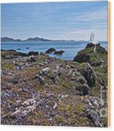 Llanddwyn Island Wood Print by Meirion Matthias