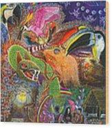 Llullu Machaco  Wood Print
