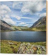 Llyn Idwal Lake Wood Print