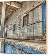 Loading Dock Wood Print