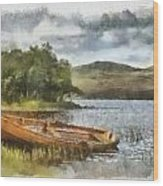 Loch Awe Wood Print