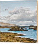 Loch Ba View Wood Print
