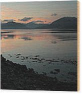 Loch Linnie And The Ardgour Mountains Wood Print