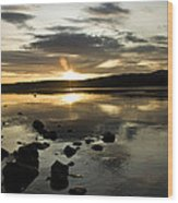 Loch Rannoch Sunset Wood Print