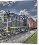 Locomotive II Wood Print