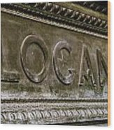 Logan Circle Wood Print