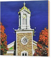 Logan Utah Lds Tabernacle Wood Print