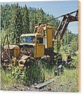 Logging Truck 2 - Burke Idaho Ghost Town Wood Print