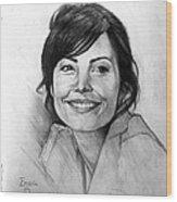 Lois Lane Wood Print