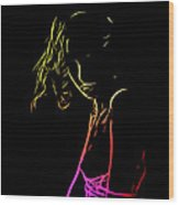 Lolita Color Wood Print