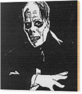 Lon Chaney As The Phantom Wood Print