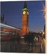 London 3 Wood Print