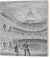 London: Adelphi Theatre Wood Print