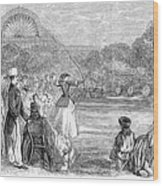 London: Archery, 1859 Wood Print