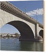 London Bridge Wood Print